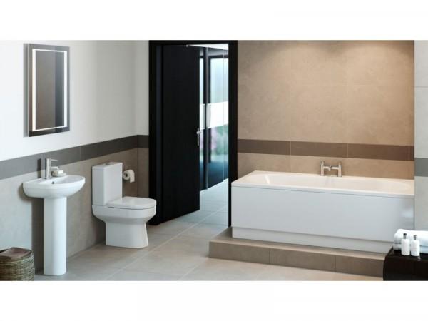 Eliana Mulberry Upgrade Bath Suite inc. Ivy Taps