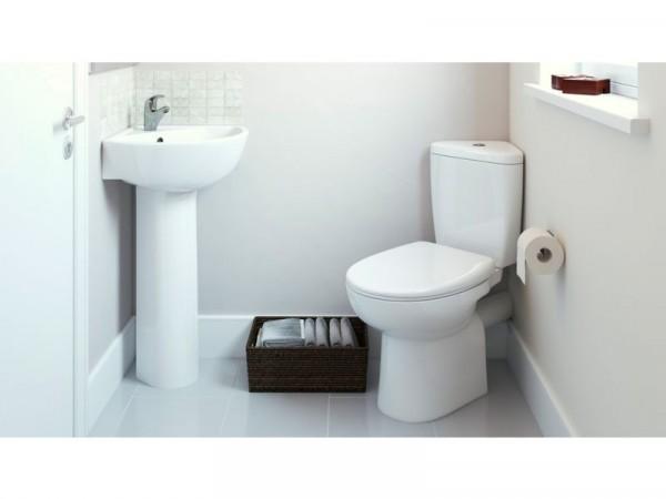 Eliana Minispace Corner Cloakroom Suite inc. Ammi Tap