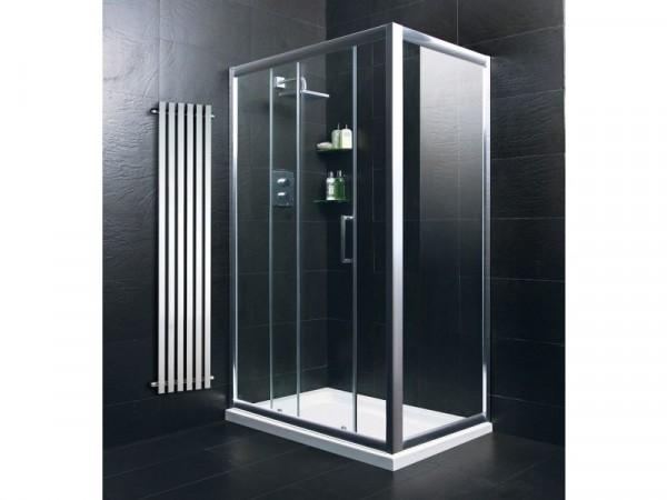 Eliana Nerine 1200x800mm Sliding Door Shower Enclosure