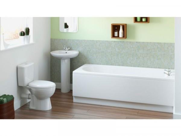 Eliana Maple Bath Suite inc. Ash Taps