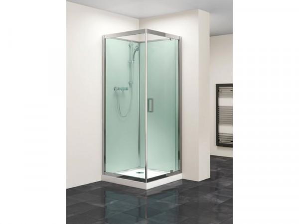 Lavari 800mm Glass Pivot Door Shower Enclosure & Tray