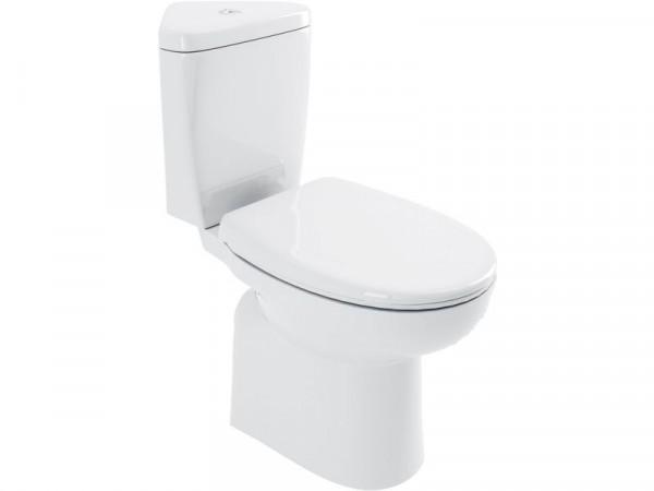 Lavari Minispace Corner Toilet and Standard Seat