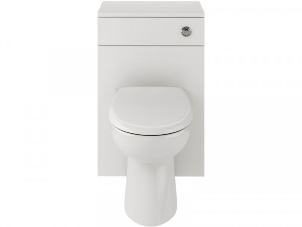 Lavari Ferne WC Unit White with Toilet and Seat