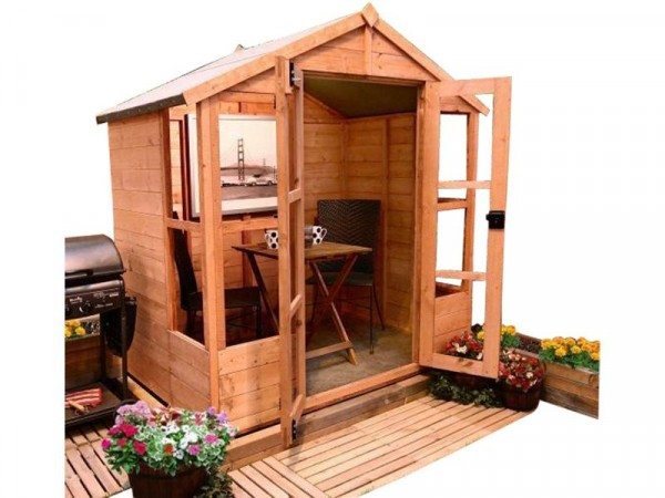 BILLYOH  T AND G SUMMERHOUSE 4 X6