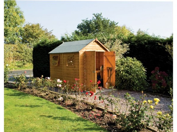 Rowlinson Premier Wooden Shed - 12 x 8ft