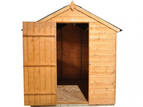 8X6 SHIPLAP SHED WITH ONDULINE ROOF