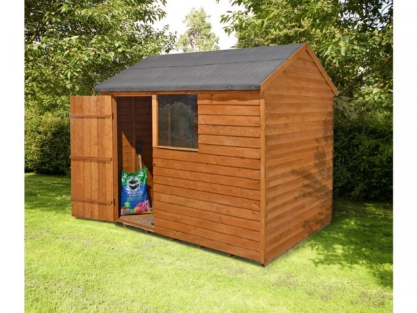 REVERSE 8X6 SHED