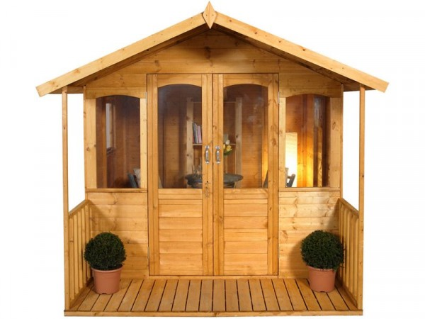 Forest Hollington Wooden Summerhouse - 8 x 8ft