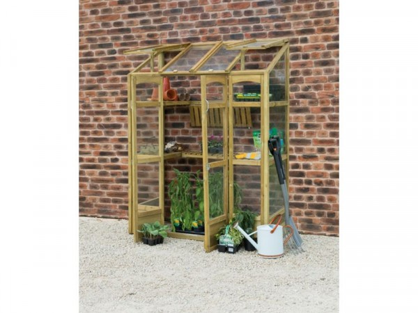TALL WALL GREENHOUSE