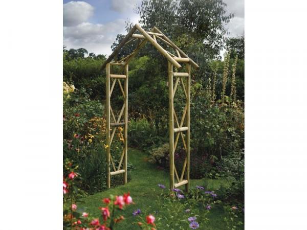 Rustic Garden Arch
