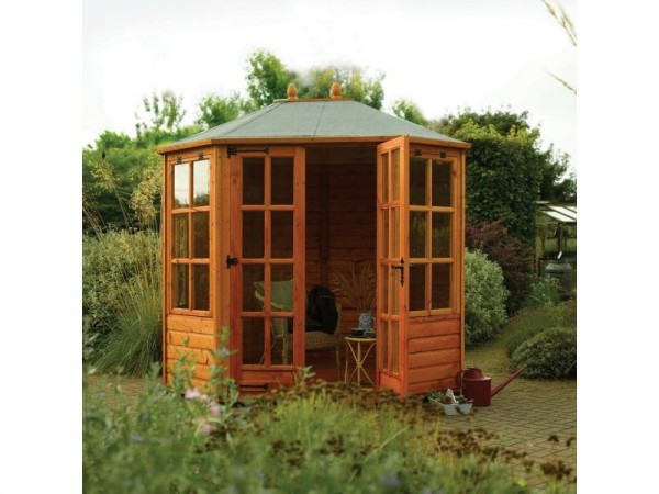 Ryton Wooden Octagonal Summerhouse 8 x 6ft