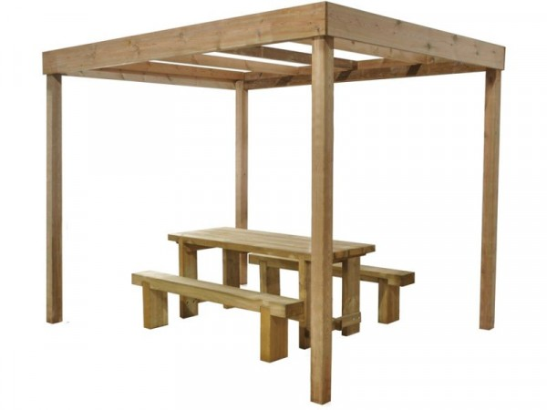 Forest Dining Pergola without Panels