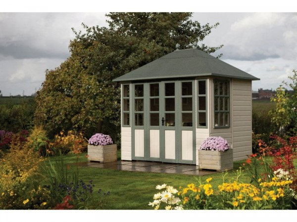 Chatsworth Wooden Summerhouse - 8 x 6ft