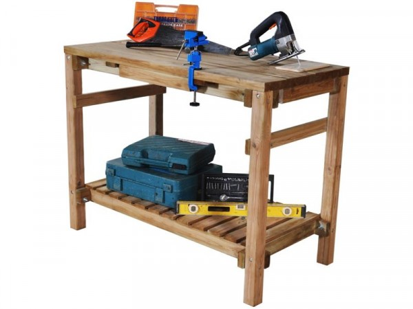 SHED WORK BENCH