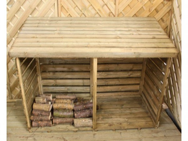 Mercia Garden Double Log Store