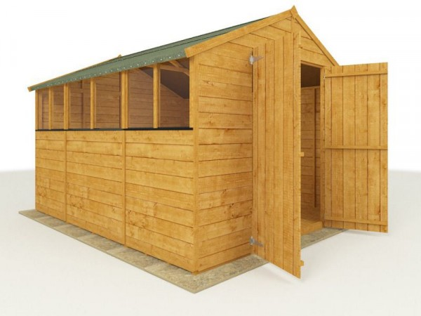 BillyOh Wooden Tongue and Groove Apex 10 x 8ft