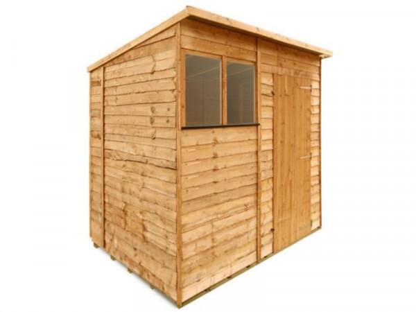BillyOh Wooden Economy Rustic Overlap Pent 7 x 5ft