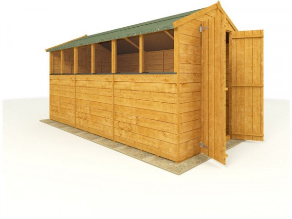 BillyOh Wooden Tongue and Groove Apex 12 x 6ft