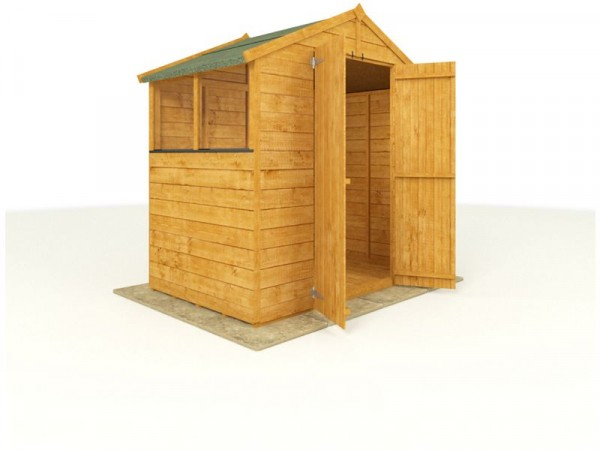BillyOh Wooden Tongue and Groove Apex 4 x 6ft