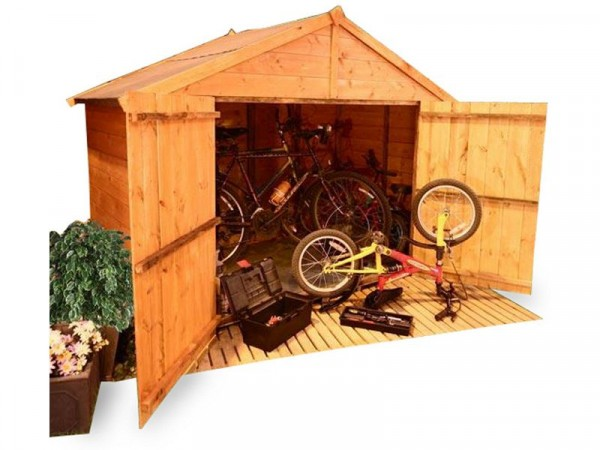 BillyOh Tongue and Groove Apex Bike Storage 4 x 7