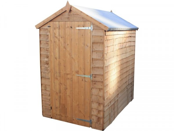 6X4 WANEY EDGE SHED
