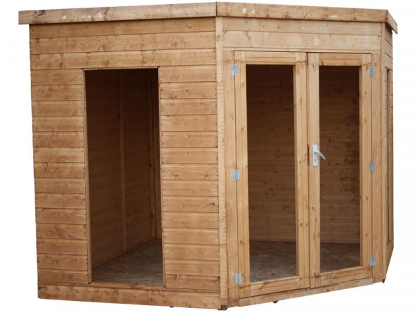 Mercia Garden 8x8 Wooden Corner Summerhouse