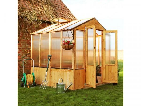 BillyOh Premium Complete Wooden Greenhouse 3 x 6