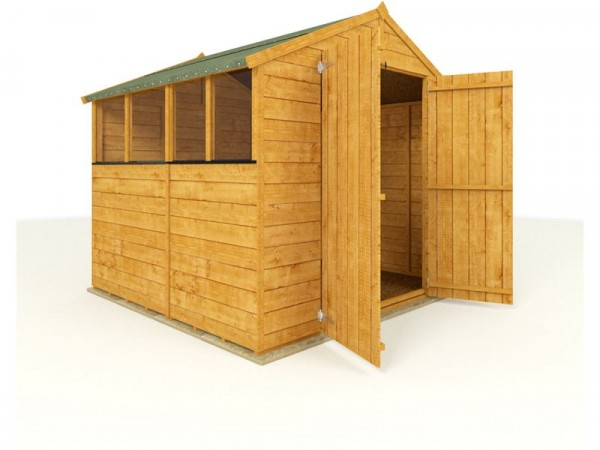 BillyOh Premium Wooden Tongue and Groove Apex 7 x 7ft