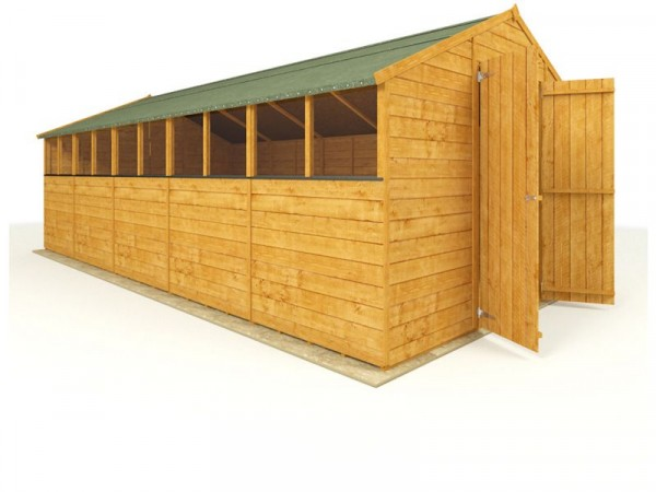 BillyOh Wooden Tongue and Groove Apex Workshop 20 x 10ft
