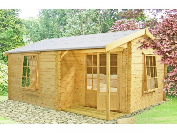 Homewood Ringwood Wooden Cabin - 14 x 15ft