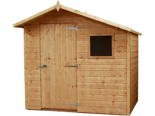 Mercia Offset Shiplap Wooden Shed - 7 x 5ft
