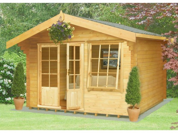 Homewood Hale Wooden Cabin - 12 x 12ft