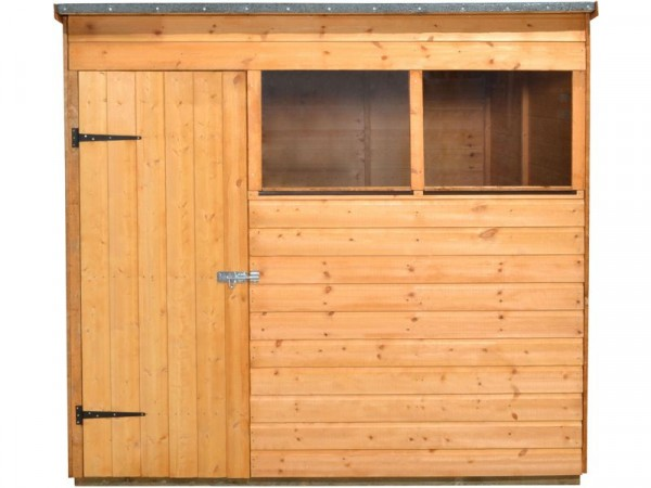 7X5 SHIPLAP PENT WOODEN SHED DD