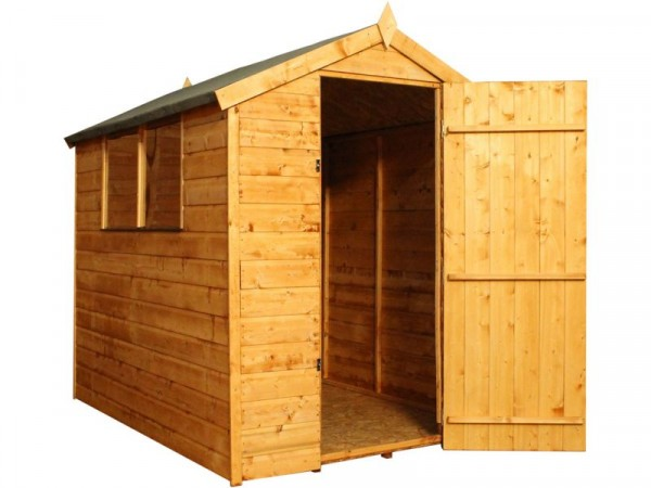 Mercia Shiplap Wooden Apex Shed 6 x 4ft
