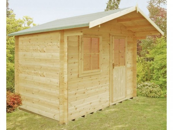 Homewood Selwood Wooden Cabin - 12 x 12ft