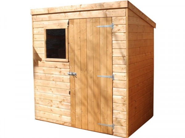 Mercia Shiplap Wooden Shed - 6 x 4ft