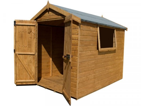 Mercia Premium Shiplap Wooden Shed - 8 x 6ft