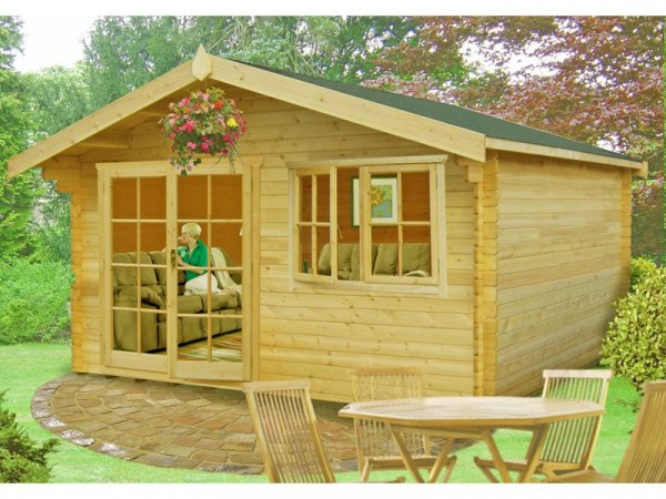 Homewood Abbeyford Wooden Cabin - 14 x 14ft