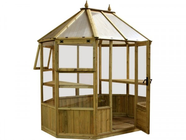 8X6 OCTAGONAL GREENHOUSE
