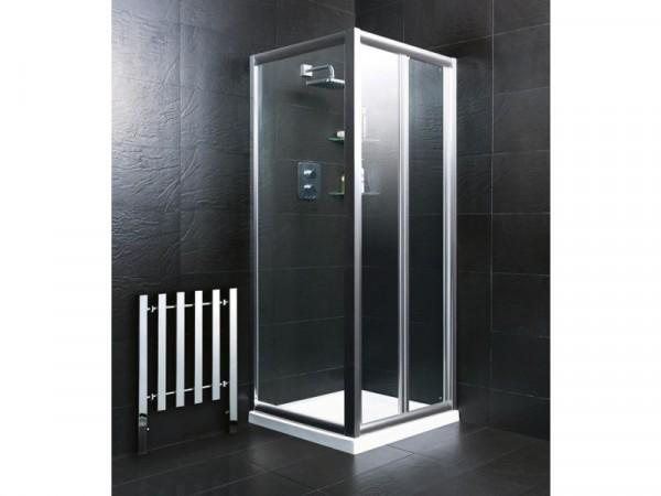 BIFOLD 760MM DOOR SILVER