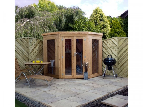 7X7 T G CORNER SUMMERHOUSE