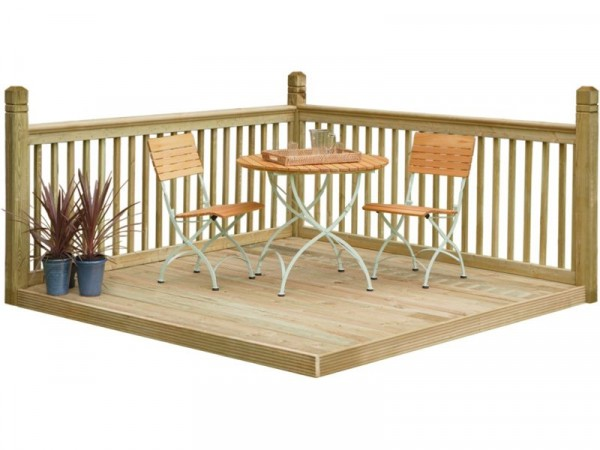 Forest Instant Patio Deck Kit