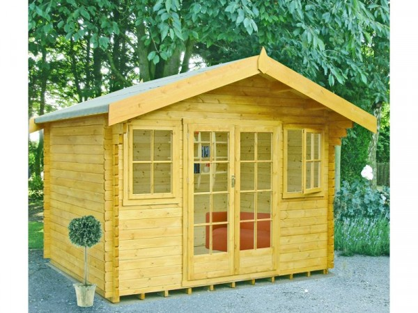 Homewood Clipstone Wooden Cabin - 14 x 14ft