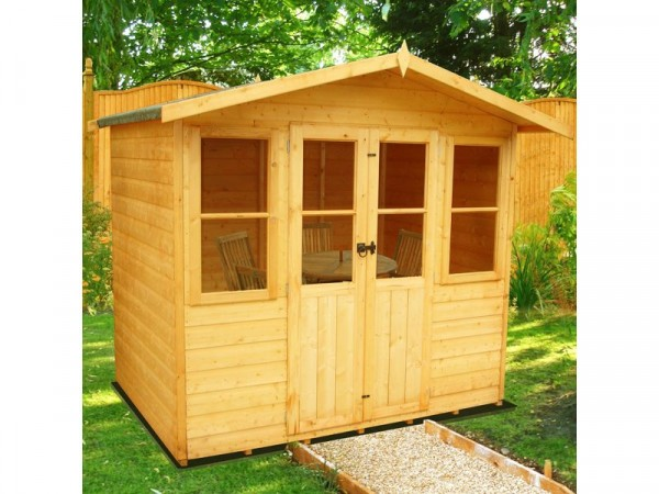 Homewood Haddon Wooden Summerhouse - 7 x 5ft