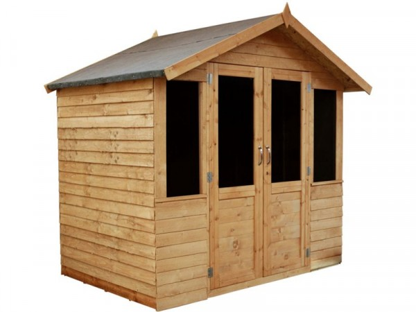 Mercia Traditional Double Door Wooden Summer House 7 x 5ft