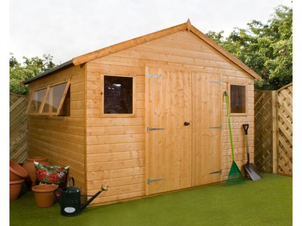 Mercia Shiplap Wooden Workshop - 10 x 10ft