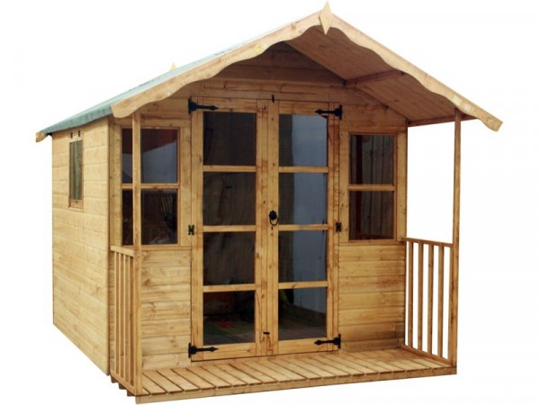 8X8 PREMIUM T G SUMMERHOUSE