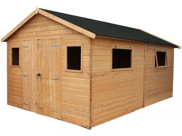 Mercia Shiplap Wooden Workshop - 16 x 10ft