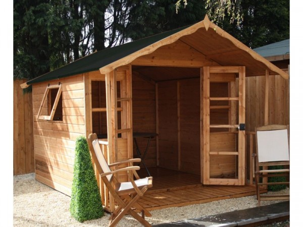 10X8 PREMIER T G SUMMERHOUSE