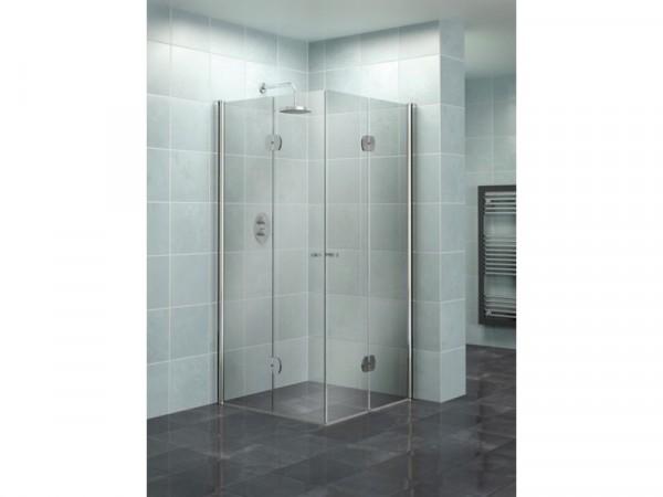 Lavari 900mm Full Access Folding Shower Enclosure
